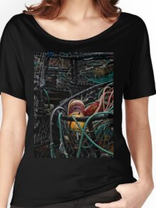Crab Rings On The Bayfront Women's Relaxed Fit T-Shirt