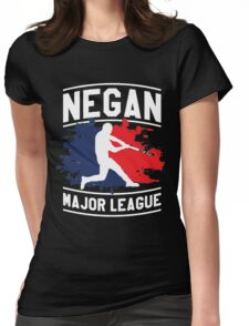 negan - Lucille Womens Fitted T-Shirt