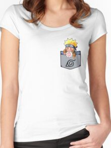NARUTO CHIBI Women's Fitted Scoop T-Shirt