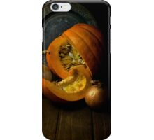 Still life with pumpkin iPhone Case/Skin