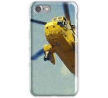 Sea King helicopter fly over iPhone Case/Skin