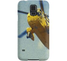 Sea King helicopter fly over Samsung Galaxy Case/Skin