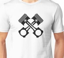 Crossed piston Unisex T-Shirt