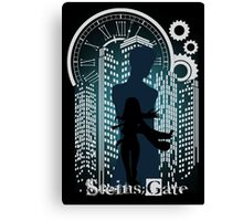 The Maker Of Time Machine Canvas Print