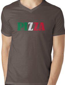 Italian pizza Mens V-Neck T-Shirt