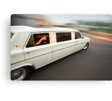 White Holden EH Limo rig shot Canvas Print