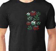 Ditsy mistletoe Unisex T-Shirt