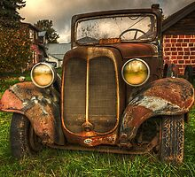 The Old Truck In Molalla by thomr