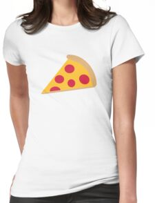 Pizza pepperoni Womens Fitted T-Shirt