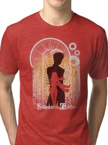 The Maker Of Time Machine (orange) Tri-blend T-Shirt