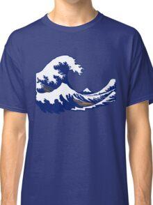 wave vague hokusai Classic T-Shirt