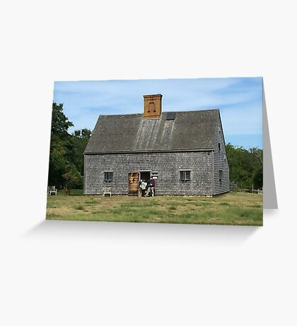Oldest House on the Island Greeting Card