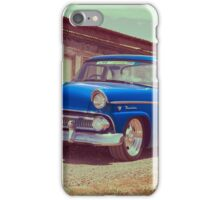 Blue Ford Mainline iPhone Case/Skin