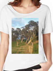 Sheehans Road, Romsey, Sunrise Women's Relaxed Fit T-Shirt