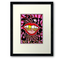 The Electric Mayhem Band - The Lost Concert Poster Framed Print