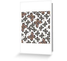 Butterflies and bees 001 Greeting Card
