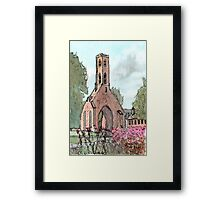 Greyfriars Tower Framed Print