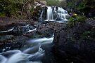 Inchree Falls by Roddy Atkinson