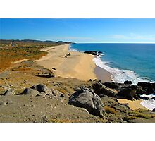 Solitary South Pacific Baja Mexico Coastline Photographic Print