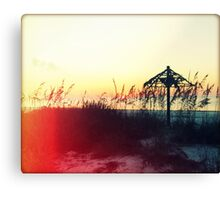 Tiki Sunset I Canvas Print