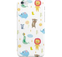 Zoo party iPhone Case/Skin
