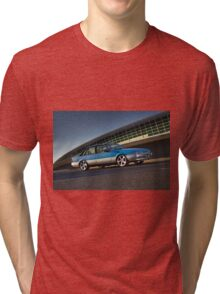 Blue Holden Commodore VL Turbo Tri-blend T-Shirt