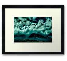 Cloud Strewn Framed Print