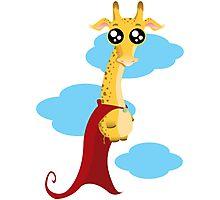Hero Giraffe Photographic Print