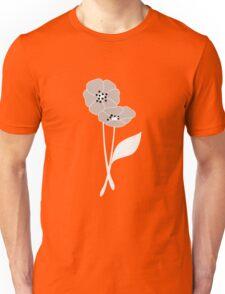 Retro flowers pattern 004 Unisex T-Shirt