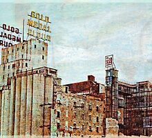 Mill District in Minneapolis by susan stone