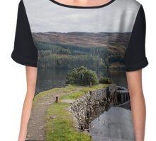 Loch Ness - Fort Augustus - Scotland Chiffon Top
