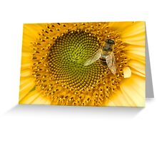 """Bee"" Happy Greeting Card"