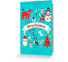 Christmas All in One Greeting Card