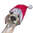 CHRISTMAS GREYHOUND by Hares & Critters