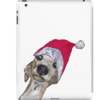 CHRISTMAS GREYHOUND iPad Case/Skin