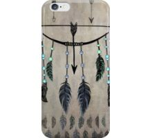 Bow, Arrow, and Feathers iPhone Case/Skin