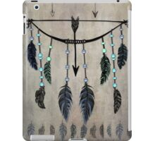 Bow, Arrow, and Feathers iPad Case/Skin