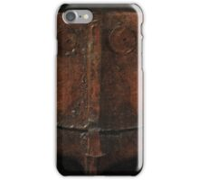 a welder's mask iPhone Case/Skin
