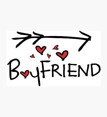 Boyfriend Photographic Print