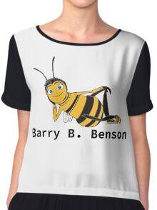 Barry B. Benson - Animation Text Design Chiffon Top