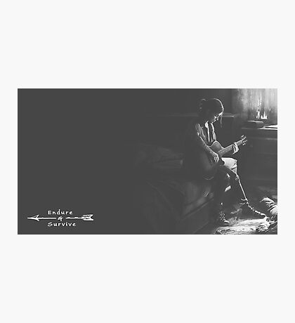 The Last of Us 2 - Endure & Survive Photographic Print