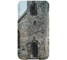 Entrance door Priory church of St Mary Deerhurst England 198405140057  Samsung Galaxy Case/Skin