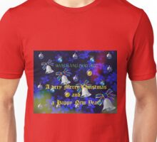 Christmas in Blue - Card and Video - For all my RedBubble Friends Unisex T-Shirt