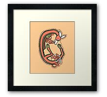 Fox Letter C Framed Print