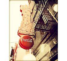 San Francisco Coca-Cola Photographic Print