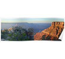 Canyon at Dusk  Poster