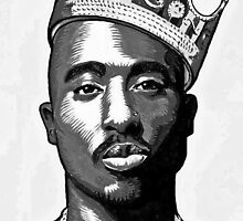Tupac by OfficialSamo
