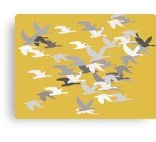 Flying Birds Canvas Print