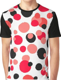 Unusual dotted pattern from painted rounds Graphic T-Shirt