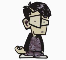 James, the Asian Emo Kid of 2007 Kids Tee